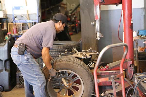 Tire Rotation - wheel alignment